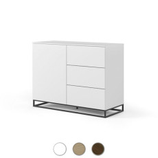 TEMAHOME Drawers Join 120H2 L 120cm with metal legs