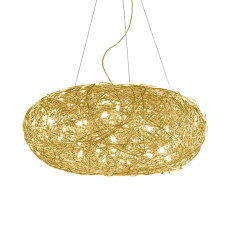 Catellani & Smith Fil de Fer Ovale suspension lamp LED