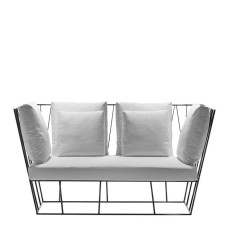 Driade 2 seater sofa Hervé L 157 cm For indoor and outdoor use