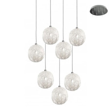 Catellani & Smith Sweet Light Chandelier suspension lamp LED G4