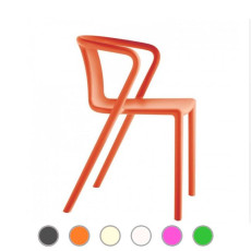 Magis chair Air Stackable, With armrests H 72,5 cm L 53 cm, also for outdoor use