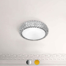 Marchetti Crystal Ceiling lamp Andromeda G9 Ø 90 cm 9 lights
