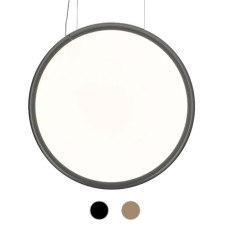 Artemide Pendant lamp Discovery Vertical 70 LED 40W Ø 70 cm Dimmable - Compatible with application