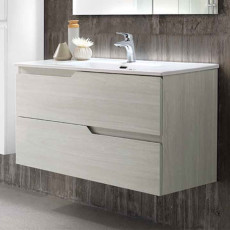 Modo Mobile with Bora wall hung washbasin L 100 cm