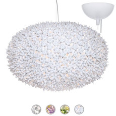 Kartell Pendant lamp Bloom Ø 80 cm 9 Lights G9