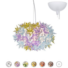 Kartell Pendant lamp Bloom Ø 28 cm 3 Lights G9