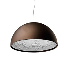 Flos Suspension lamp Skygarden 1 1 Light E27 Ø 60 cm Rust