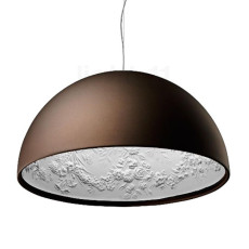 Flos Suspension lamp Skygarden 2 1 Light230W Ø 90 cm Bronze