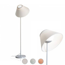 Luceplan Floor lamp Cappuccina LED 12W H 150 cm Dimmable