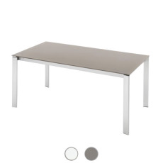 Connubia by Calligaris Extending table Eminence M glass L 130/180cm