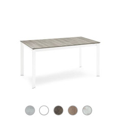 Connubia by Calligaris Extending table Eminence M wood L 110/155cm