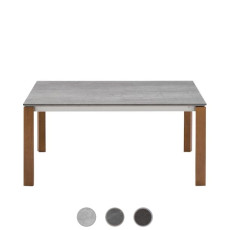 Connubia by Calligaris Extending table Eminence W ceramic L 110/155cm