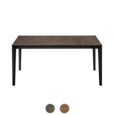 Connubia by Calligaris Extending table Pentagon wood L 160/210cm