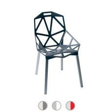 Magis Chair Chair One Stackable and flame retardant H 82 cm L 55 cm, Also for outdoor use