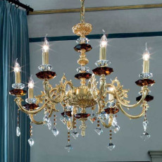 Crystal Schöler Crystal Chandelier Doroty 8 lights E14 H 90 cm