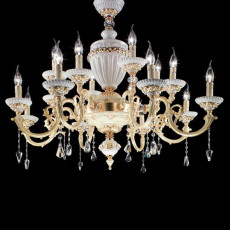 Crystal Schöler Crystal Chandelier Elaide 16 lights E14 Ø 105 cm
