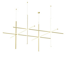 Flos Lamp Suspension Coordinates S4 CL III LED 147W L 176,2 cm