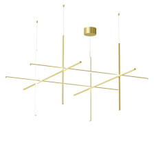 Flos Lamp Suspension COORDINATES S4 CHA LED 161W L 176,2 cm
