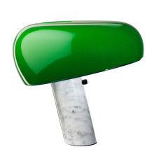 Flos Table lamp Snoopy 1 Light E27 H 36,9 cm Green