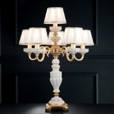Limoges Table lamp Fanny 5+1 lights E14 H 72 cm