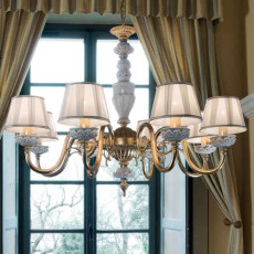 Limoges Chandelier Fanny 8 lights E14 Ø 85 cm
