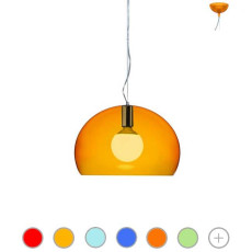Kartell Pendant lamp Small FL/Y 1 Light E27 Ø 38 cm