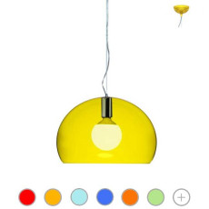 Kartell Pendant lamp FL/Y 1 Light E27 Ø 52 cm