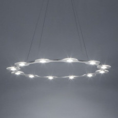 Lumen Center FLAT RING 12 Suspension lamp LED 78W 3000K Ø 98 cm dimmable