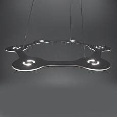 Lumen Center FLAT RING 6 Suspension lamp LED 39W  Ø 63 cm