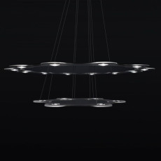 Lumen Center FLAT SATURN 2 Suspension lamp LED 113,4W Ø 98 cm Dimmable