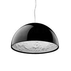 Flos Suspension lamp Skygarden 1 1 Light E27 Ø 60 cm Black