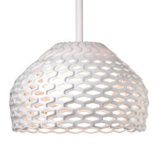 Flos Suspension Lamp Tatou S2 1 Light 205W Ø 50 cm White