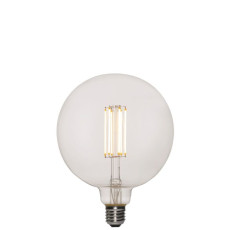 Vintage Light Bulb Luxury Line G155 7W E27 2200 K 220/240 V 15.5x19.5 cm Transparent Dimmable DLItalia