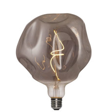 Vintage Light Bulb Luxury Line G180 5W E27 2000 K 220/240 V 18x21.5 cm Gray Dimmable DLItalia