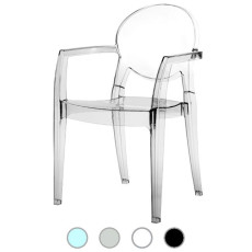 Stackable Chair Igloo Scab H 87 cm, policarbonato