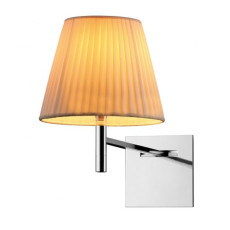 Flos Wall Lamp KTribe W Soft 1 Light E27 H 35 cm Fabric