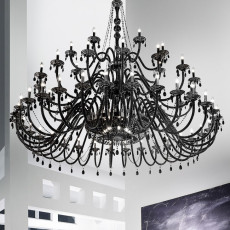 Italamp Chandelier S083 Ø 240 cm 64 Lights E14 Dimmable