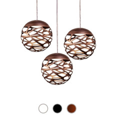 Studio Italia Design Pendant lamp Kelly Cluster Sphere LED 27W Ø 18 cm