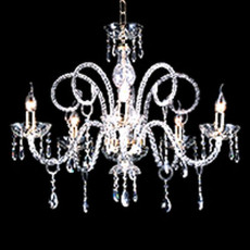 Crystal Chandelier Maria Teresa T4 Ciciriello 5 Lights E14 Ø 72 cm