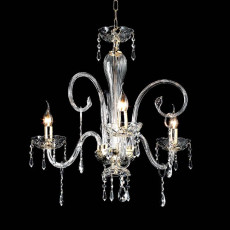 Crystal Chandelier Maria Teresa Ciciriello 3 Lights E14 Ø 62 cm