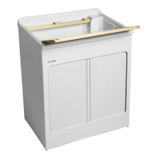 Colavene Wash basin 75x50x87 with concealed shutter and ABS bathtub
