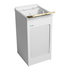 Colavene Wash basin 50x50x87 with side damper and ABS basin