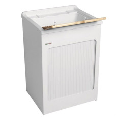 Colavene Wash basin 60x50x87 with side damper and ABS basin