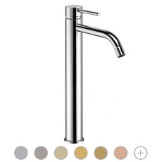 Paffoni Extended washbasin mixer without waste Light H 31.2 cm