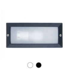 Faro Outdoor Recessed lamp Liso E27 L 23,3 cm Garden