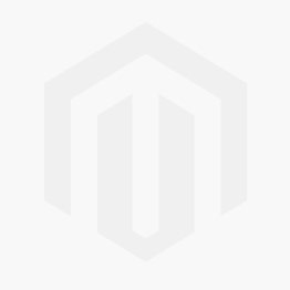 Vacchetti Round Folding Iron Table with 2 Chairs Lucca White