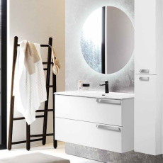 Modo Bathroom Composition Suspended Malibù with sink and LED mirror L 100x46 cm