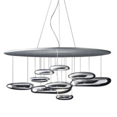 Artemide Mercury Suspension LED ø110 2 lights LED Dimmable