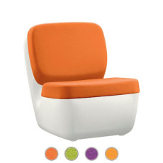 Magis armchair Nimrod Lined with woolen fabric H 80,5 cm
