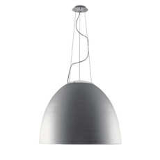 Artemide Nur 1618 LED Suspension lamp LED 95W Ø90 cm Grey Aluminium